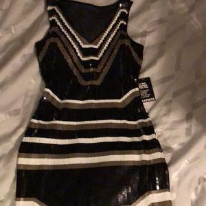 Sequin Express Dress